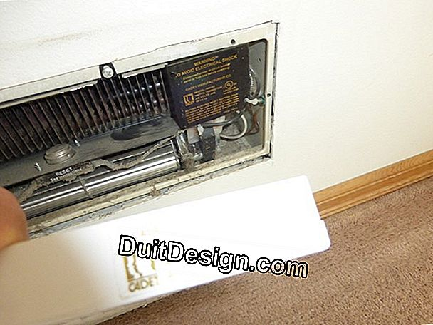 Install an electric heater