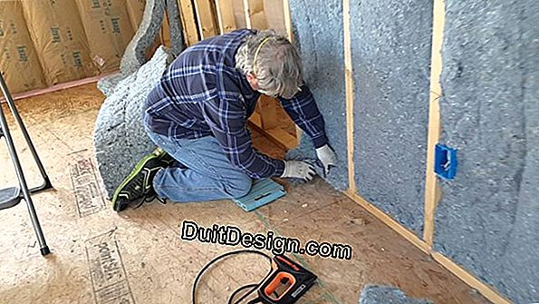 Cut out insulation