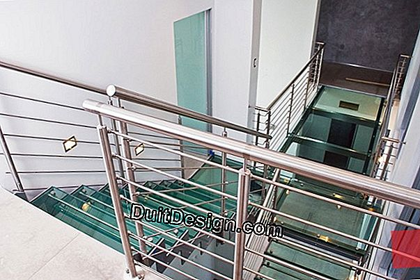 Helical staircases: aesthetics and space saving