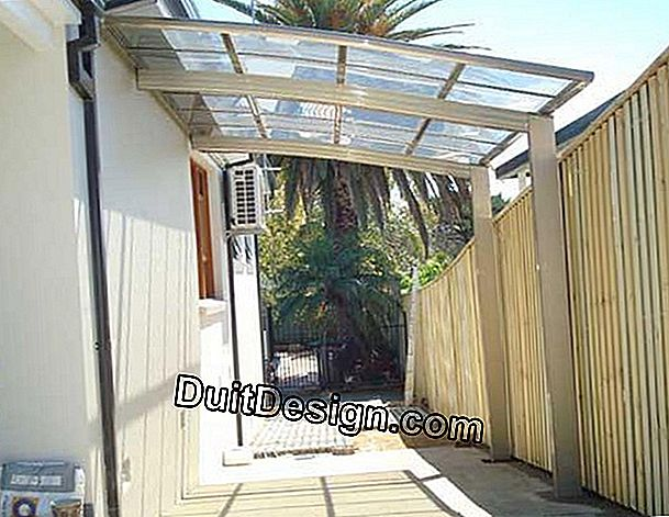 Is the roof of a polycarbonate pergola likely to become opaque?