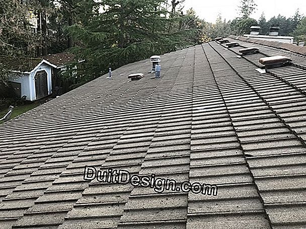 What treatment for a concrete tile roof?