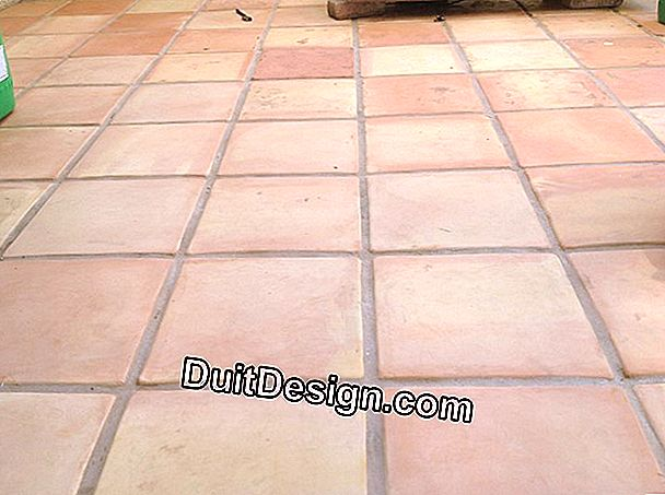 Clean a very dirty exterior tile