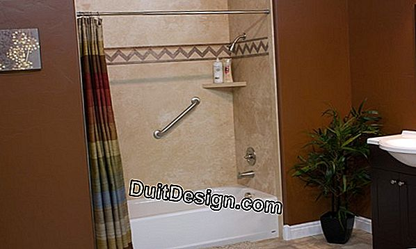 What material for a shower wall?