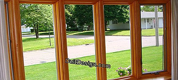 Choose between aluminum or PVC windows