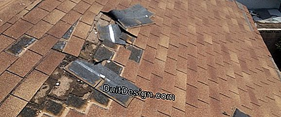Repair of roof leaks