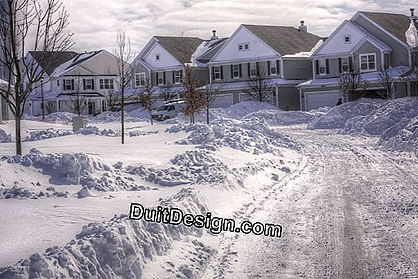 Snow removal of a condominium