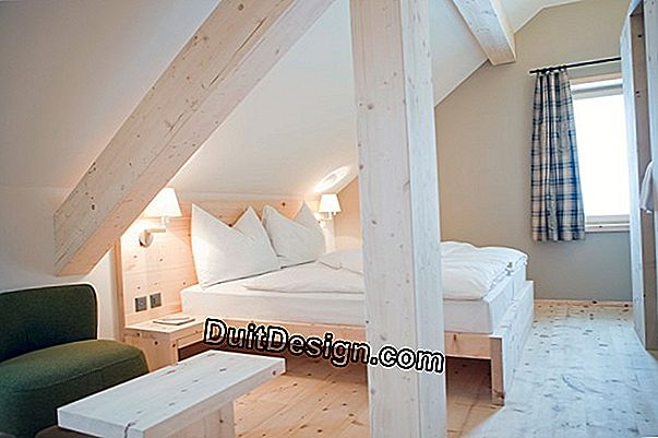 Decorate and decorate your attic
