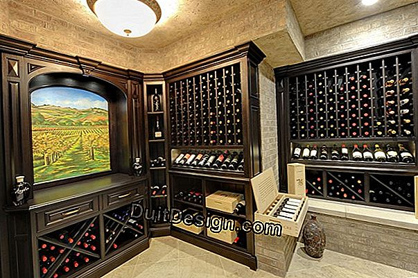 Create a wine cellar at home