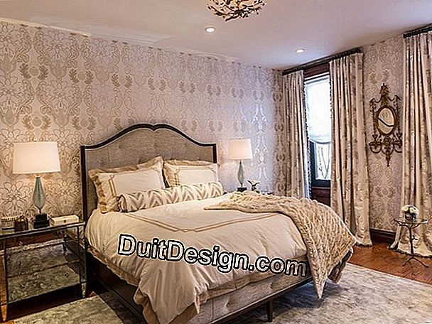 A New York style bedroom decor