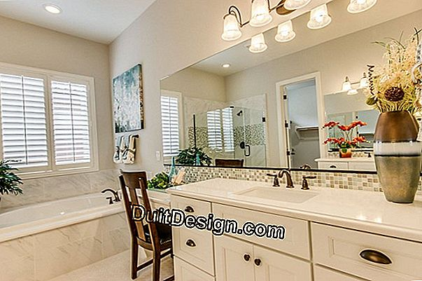 Home staging applied to a bathroom