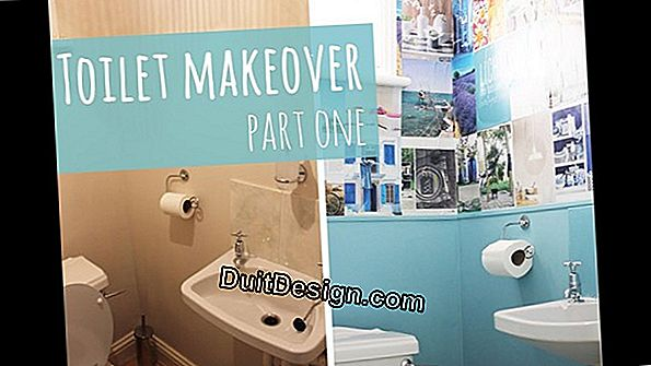 Makeover of the toilet