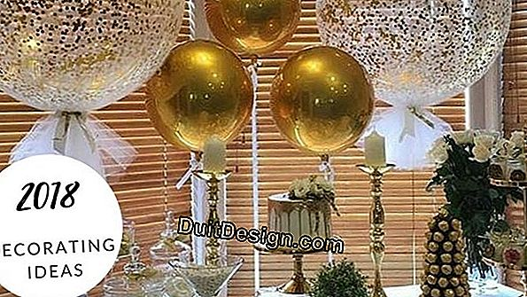 New Year's Eve: deco ideas for the house