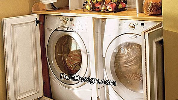 Organize and build a laundry room