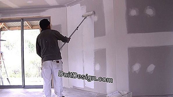 Preparation of the wall before applying the paint