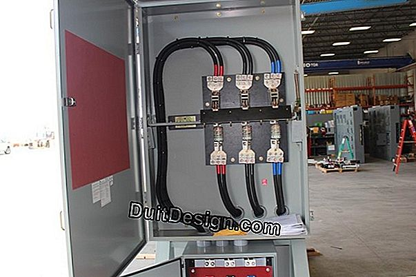 Connect a secondary electrical panel