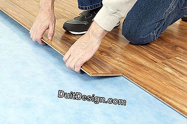 What underlayment under a vinyl floor (PVC)?