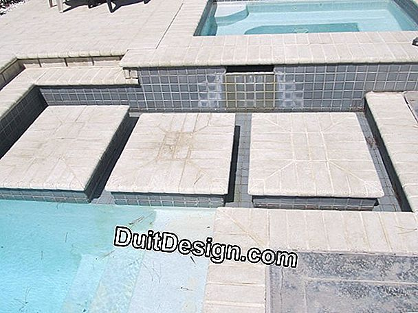 Replace a pool tile