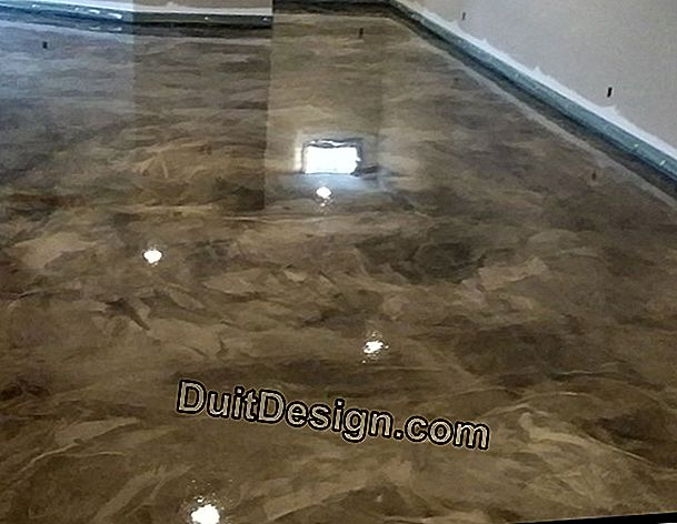 Apply a floor paint on marble