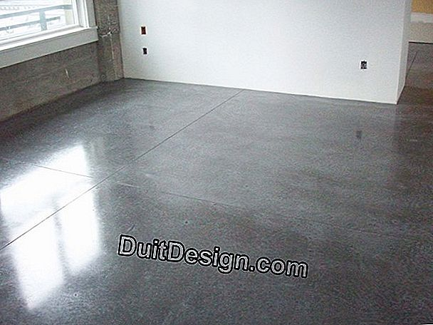 Renovation of floors and floors (light screed - dry screed)