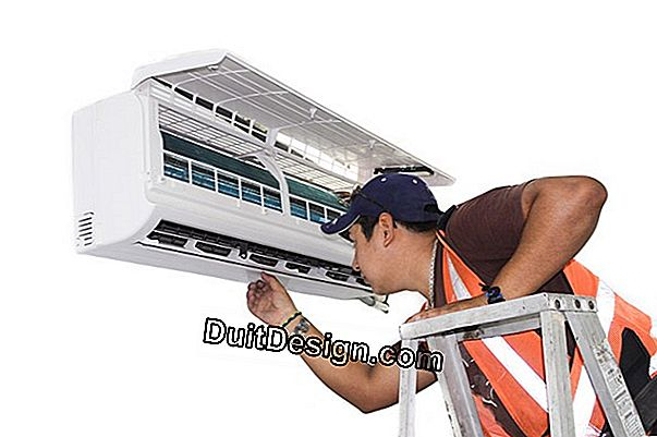 Maintenance of a reversible air conditioning