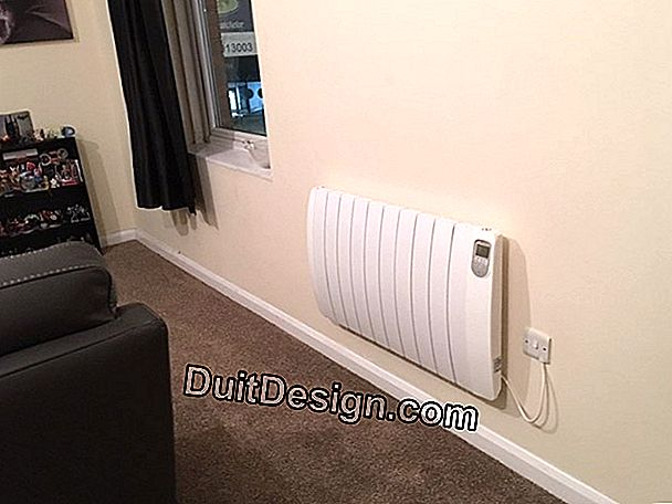Replace an electric heater