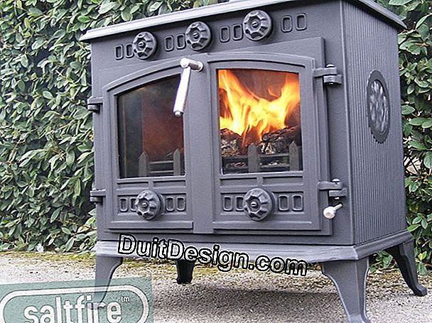 Fireplaces and boilers of central heating with wood