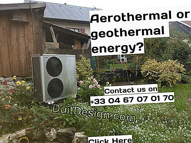 Geothermal or aerothermal