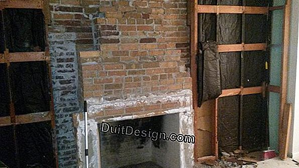 Insulate stone walls from the inside