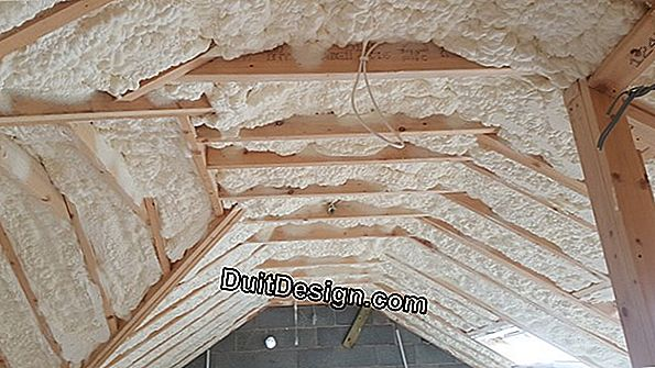 Insulation for attic lost with BA13