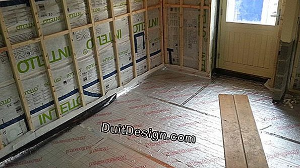 Insulate an intermediate floor