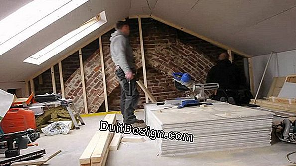 Reinforce the insulation of attics that can not be converted