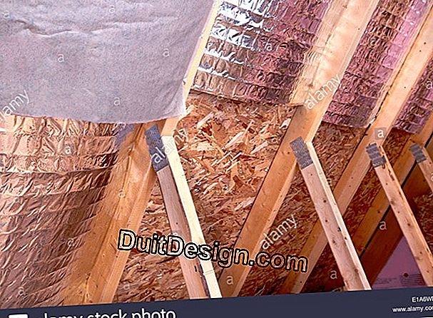 Insulate the interior of the gable of an attic