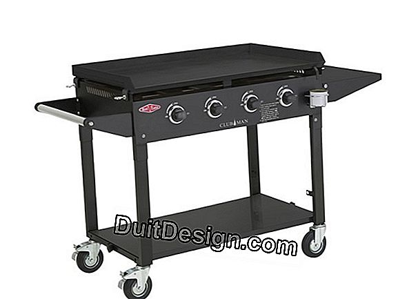 Mobile gas barbecues