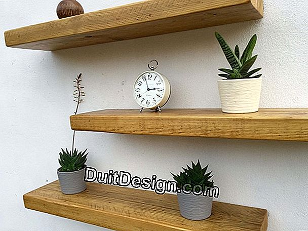 Install an invisible fixing shelf