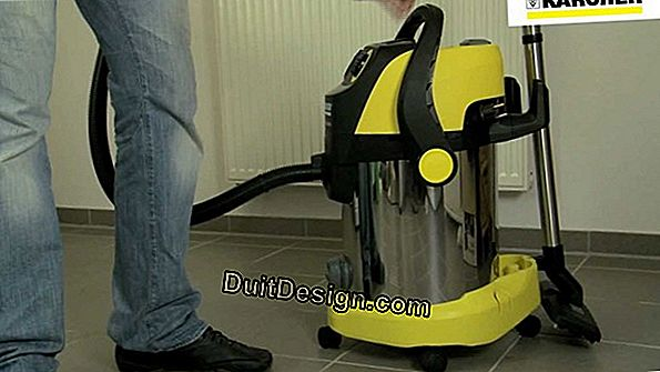 Workshop vacuum cleaner
