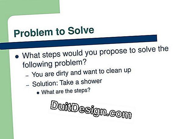 Solve a shower flow problem