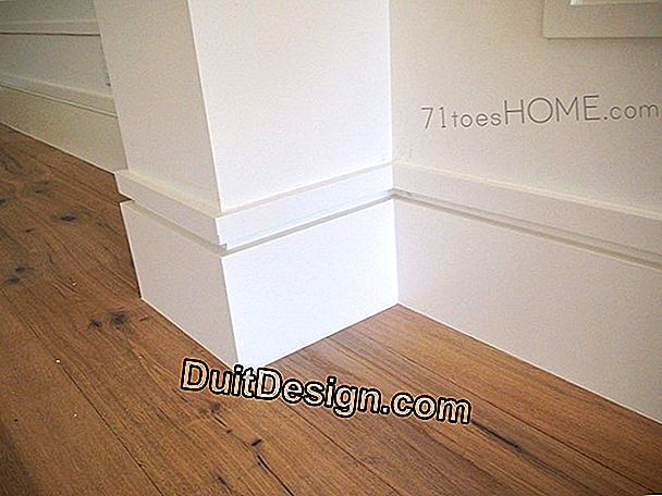 Decoration and Moldings: install skirting boards