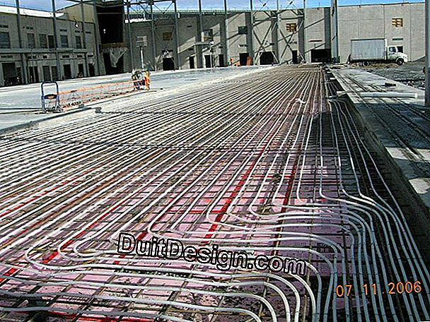 Electrical circuits: install rigid pipes