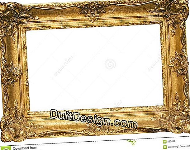 A frame with a passepartout