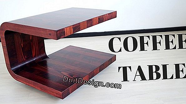 Make a larch coffee table