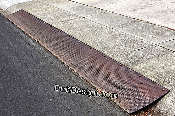 Strip a rusty ramp