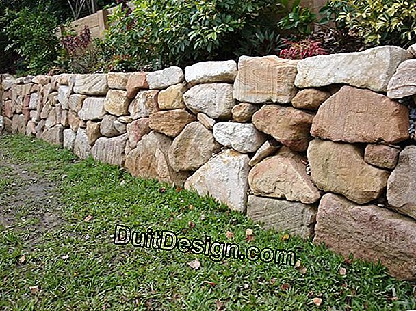 Keep the natural look of a mud wall