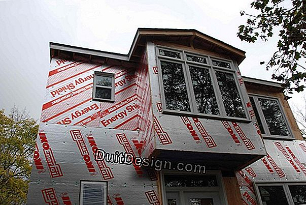 Complete the insulation from the outside