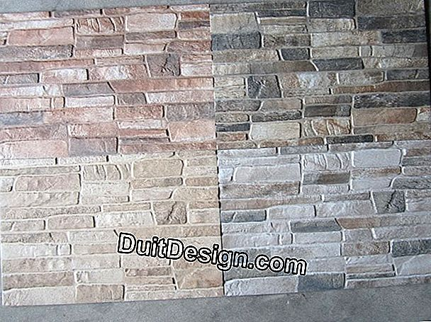 Wall tiles for outdoor