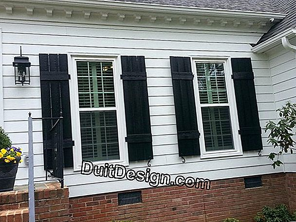 Replace shutters