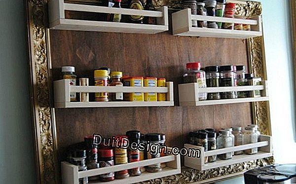 Creation of a spice rack