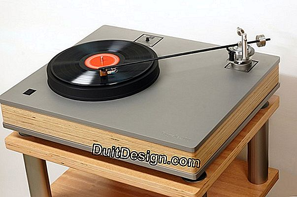 Make a piece of furniture for turntables