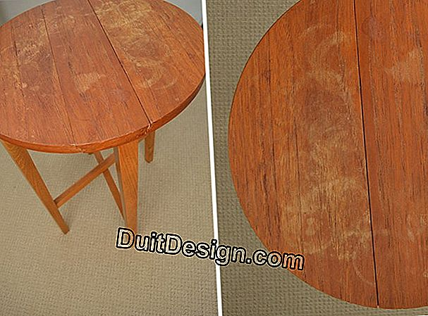 Restore an old table