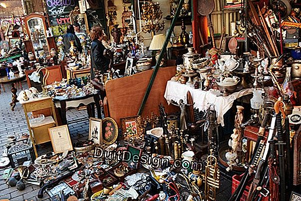 Flea markets and fleas: how to hunt decorative objects at a good price?