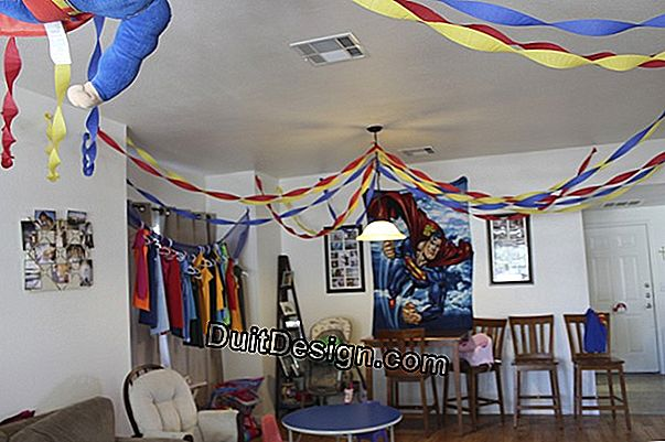 Decorate your house for a birthday party